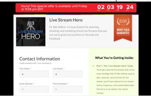 Live Stream Hero Coupon Code > $900 Off Discount